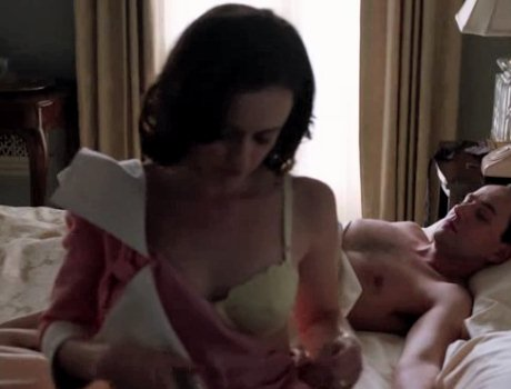 sexy naked girl takes bra off