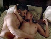 Anna Paquin naked exposing her lovely breasts in True Blood