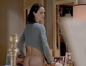 Keri Russell shows her bare butt and teasing a guy in her underwear