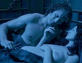 Caitriona Balfe walks naked into a room & gets banged by her man