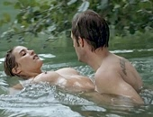 Vahina Giocante tit squeezed, nude in the lake & sex from behind